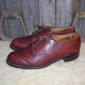 Brooks Brothers English leather vintage oxford 44